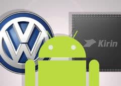 google mode sombre android soc kirin 990 volkswagen tesla