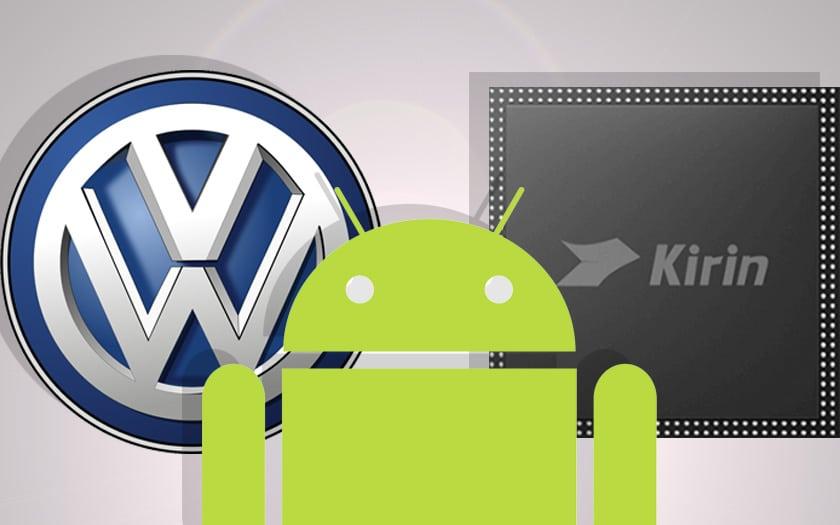 google-mode-sombre-android-soc-kirin-990-volkswagen-tesla