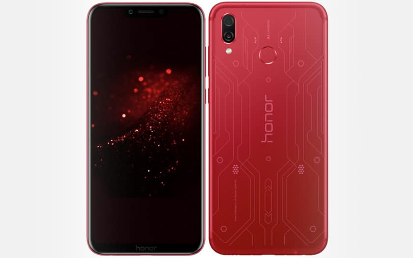 honor play edition speciale rouge
