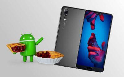 Huawei P20 mise à jour Android 9.0 Pie disponible comment l'installer
