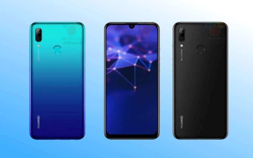 Huawei P Smart 2019 la fiche technique et le design se dévoilent avant la présentation