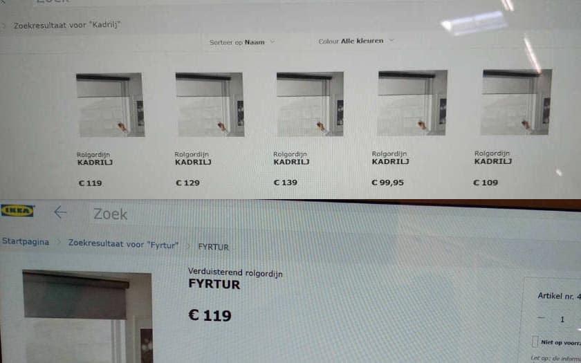 ikea va lancer une gamme de stores enrouleurs connect s pas chers d s 100 euros universmartphone. Black Bedroom Furniture Sets. Home Design Ideas