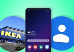 ikea stores connectés galaxy S10 moins cher google contacts mode sombre