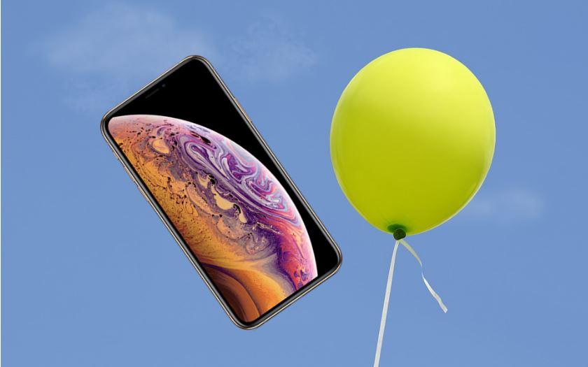 iphone paralyses helium