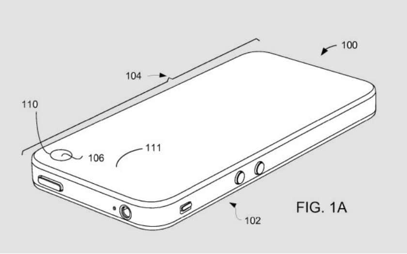 iPhone Apple envisage de cacher la caméra dans un trou dans l'écran adieu l'encoche