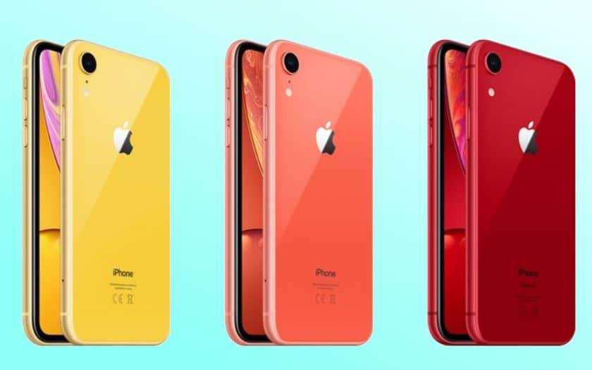 iphone xr apple demande à ses fournisseurs de baisser la production
