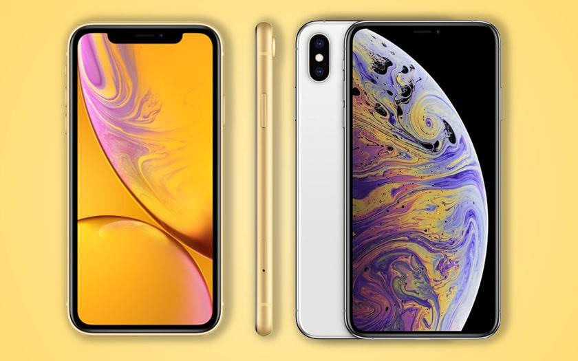 iphone xs max xr ventes inferieures apple réduit production
