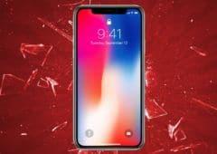 iphonex ecran tactile