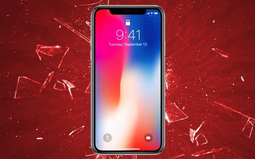 iphone x problème écran tactile