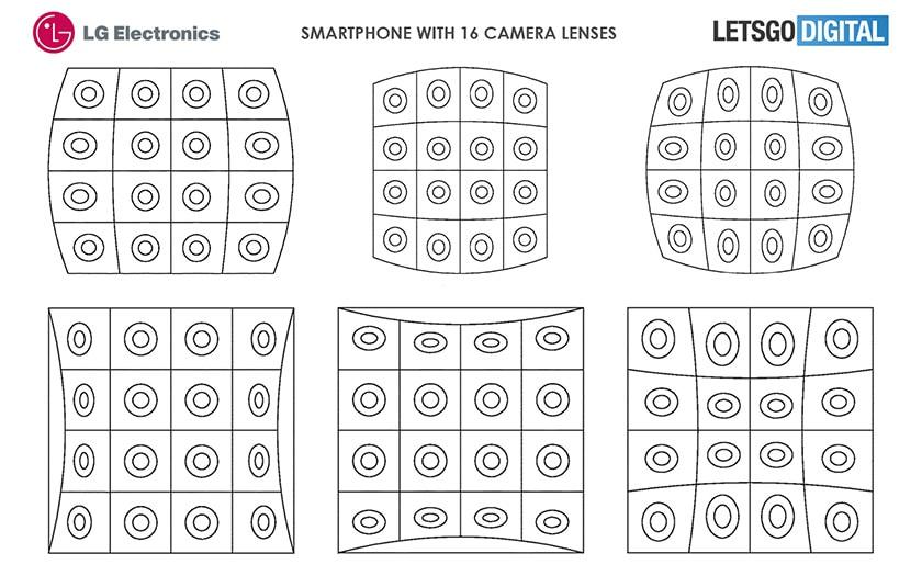 lg smartphone 16 capteurs photo