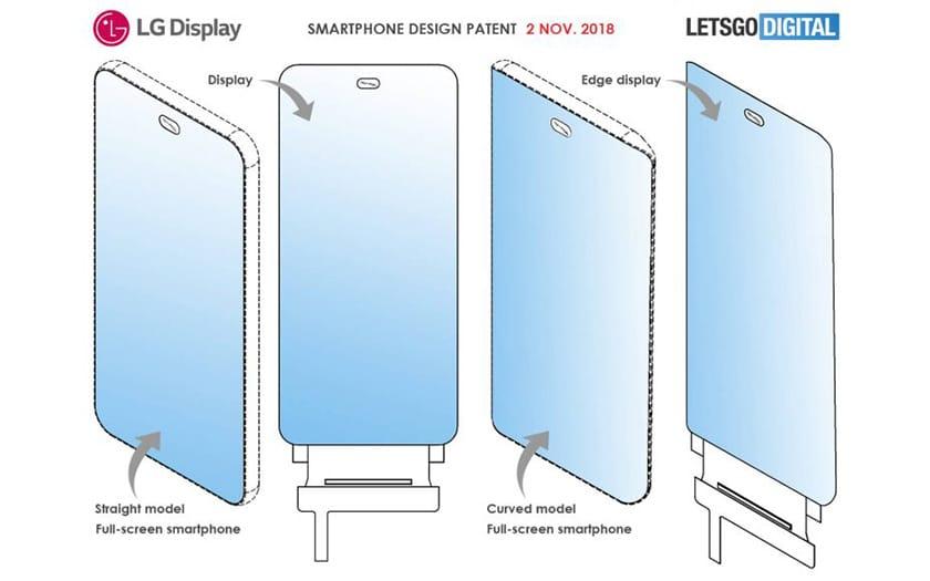 lg smartphone capteur photo sous ecran