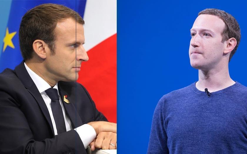 macron zuckerberg facebook france alliance haine réseau social