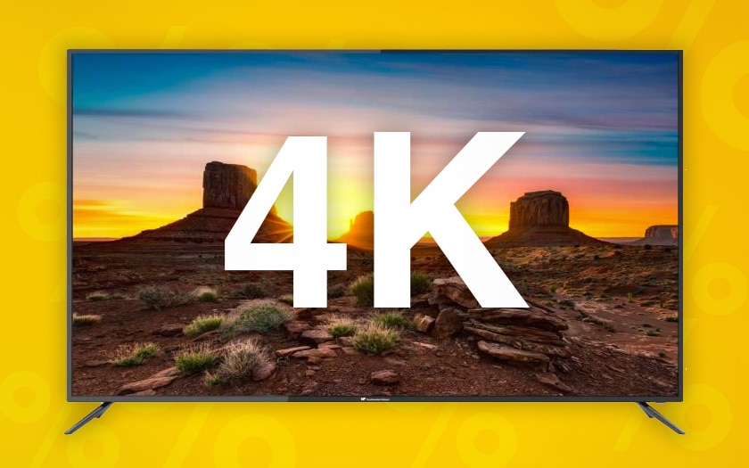 meilleures tv 4k black friday