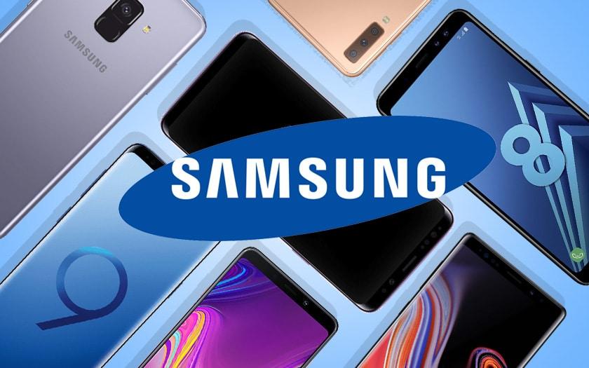 Meilleurs smartphones Samsung