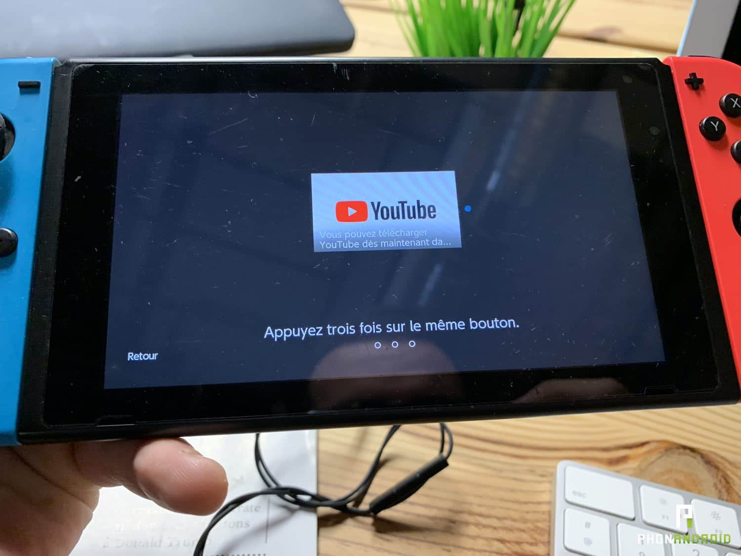 nintendo switch youtube disponible
