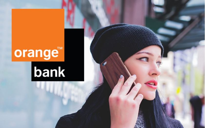 orange bank clients smartphones