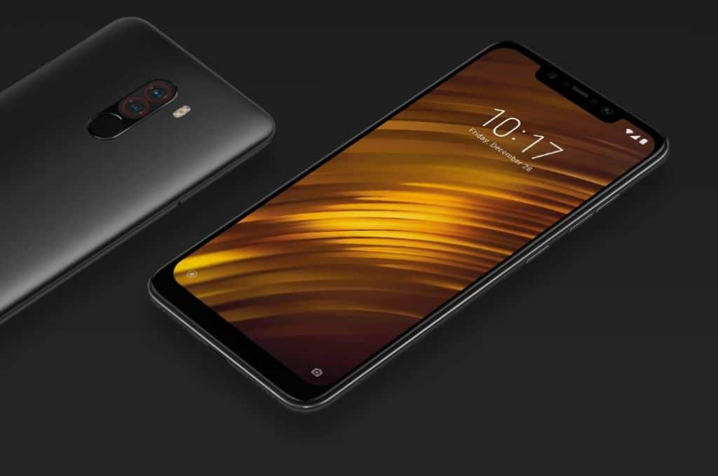 pocophone f1 android pie disponible