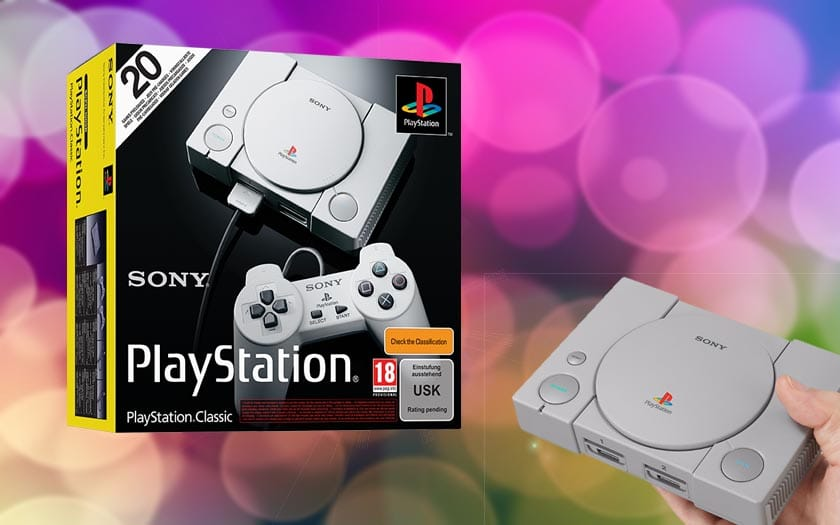 PlayStation Classic premiers tests avis réédition PS1 vaut elle coup