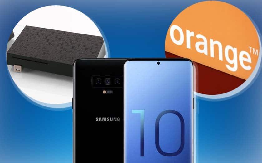 recap du 21 novembre avec orange et forfaits à prix cassés à vie, promotion freebox vente privée après un an et écran borderless du galaxy s10