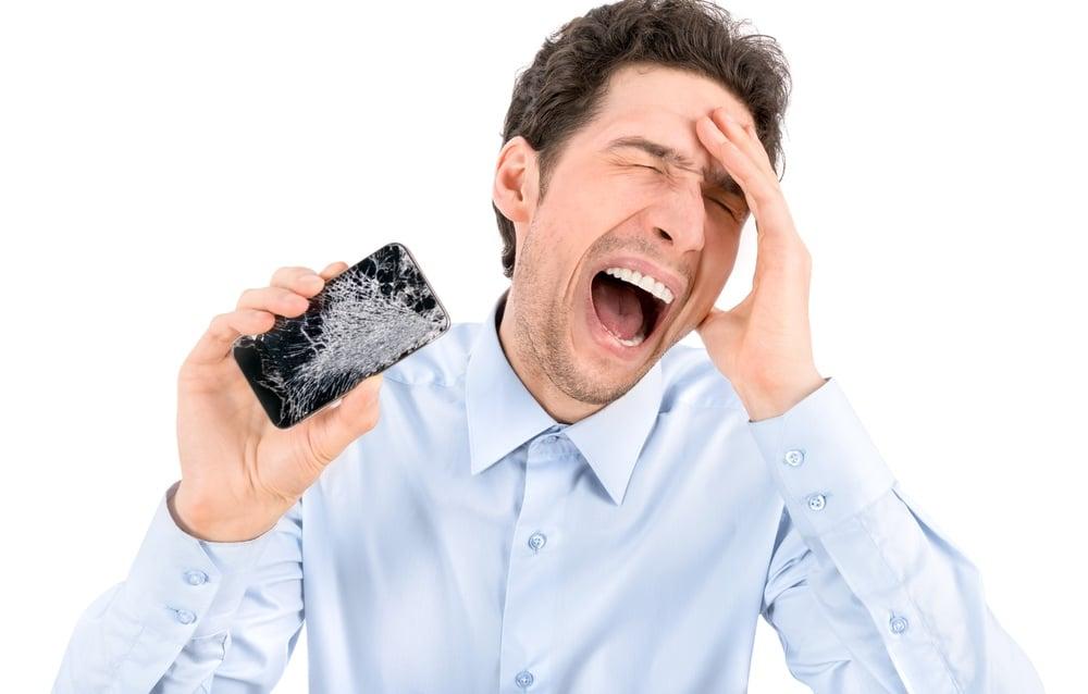smartphone casse an