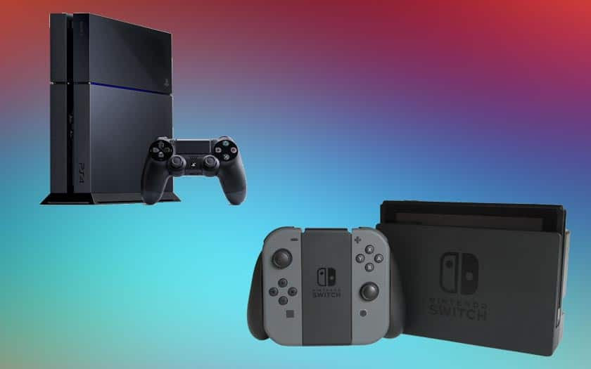 ventes switch ps4