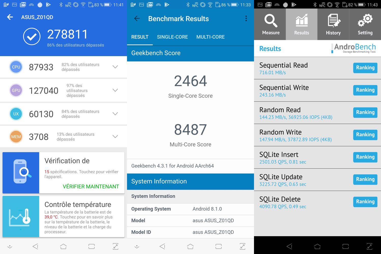test asus rog phone benchmarks