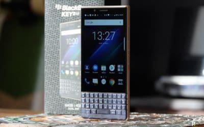 test blackberry key2 le
