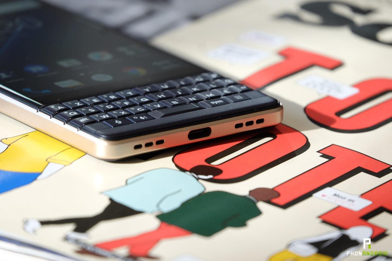 test blackberry key2 le autonomie