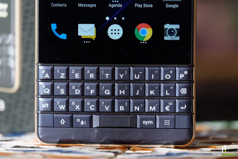 test blackberry key2 le clavier physique