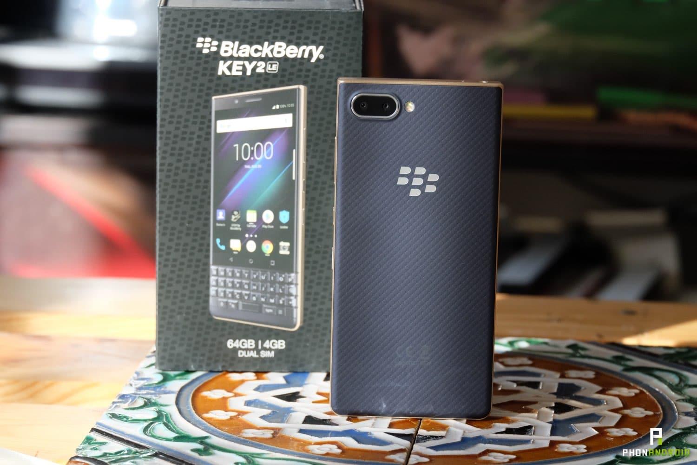 test blackberry key2 le performances