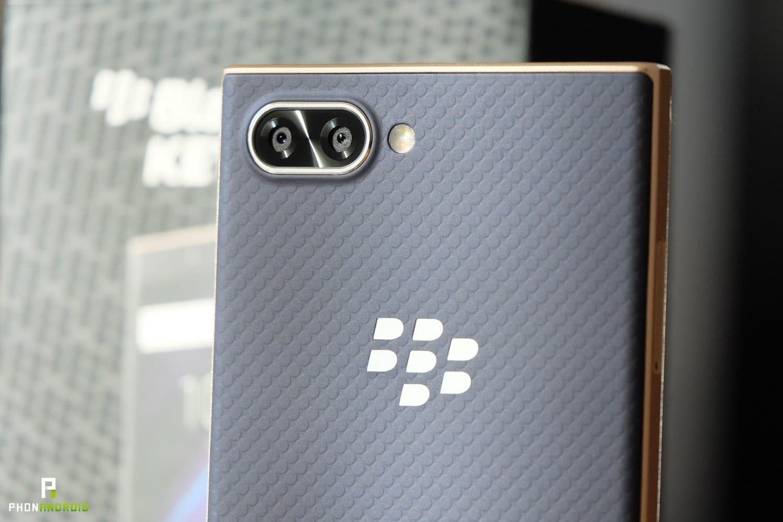 test blackberry key2 le finitions