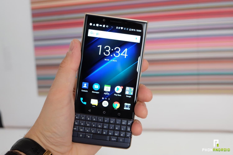 test blackberry key2 le prise en main