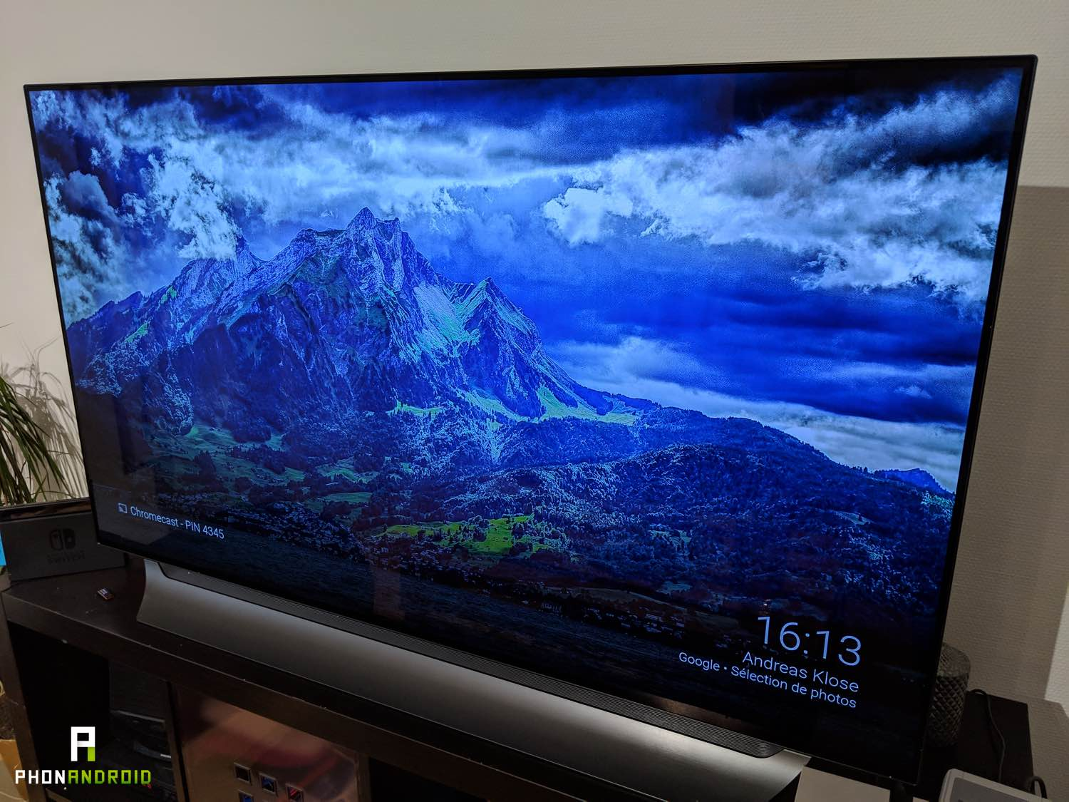 test lg tv 55C8 qualite image