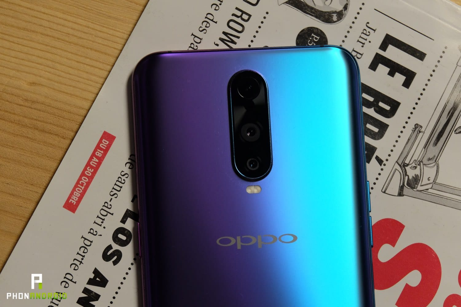 test oppo rx17 pro appareil photo