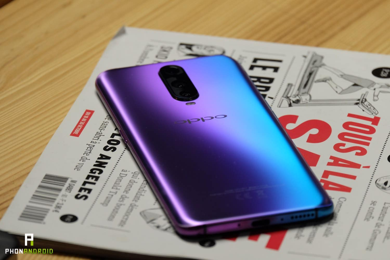 test oppo rx17 pro design finitions