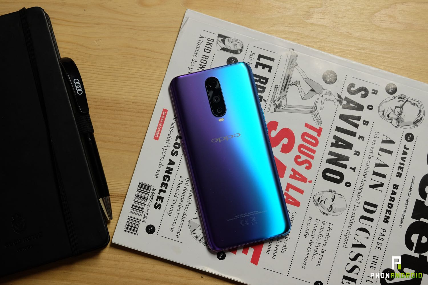 test oppo rx17 pro performances