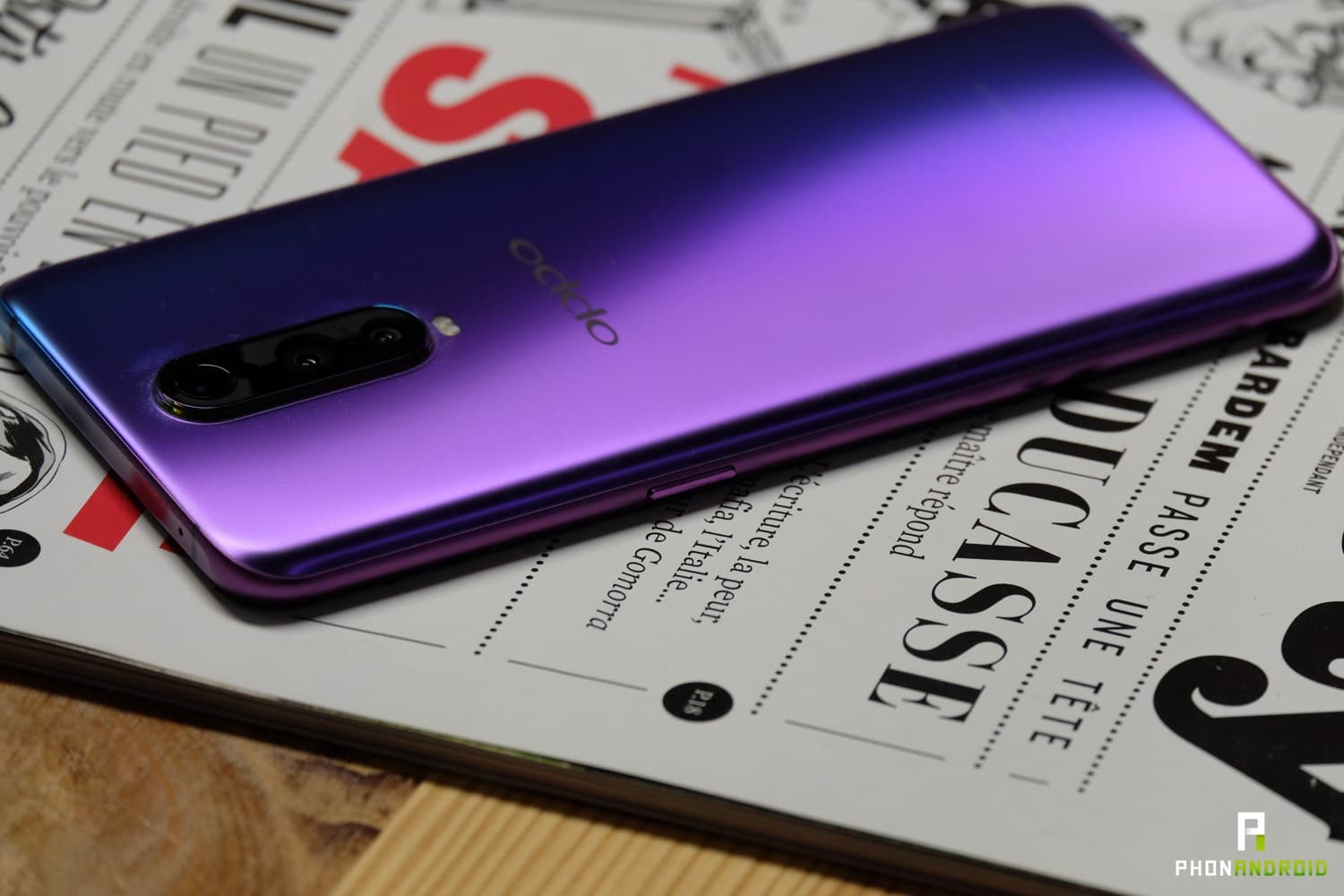 test oppo rx17 pro review design