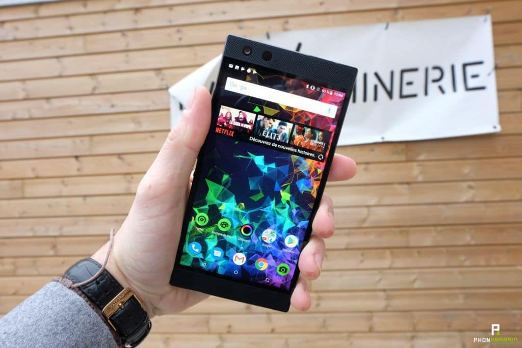 test razer phone 2 ecran 120hz