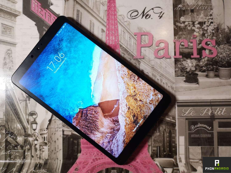 test tablette xiaomi mi pad 4
