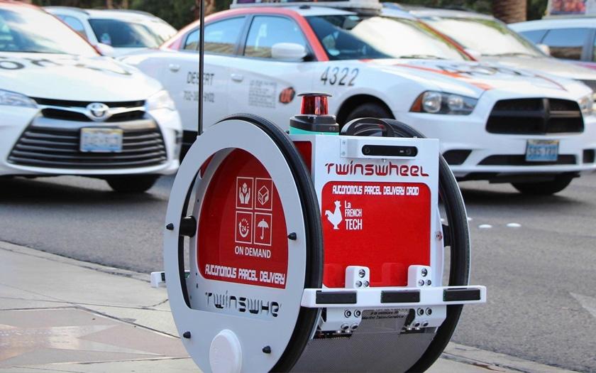 twinswheel, le robot livraison que va tester franprix