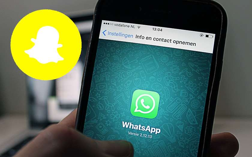 whatsapp snapchat fonction messages ephemeres