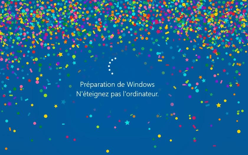 windows 10 mise a jour