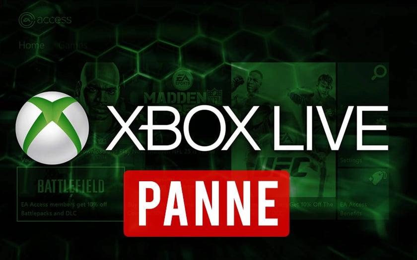 Xbox Live panne