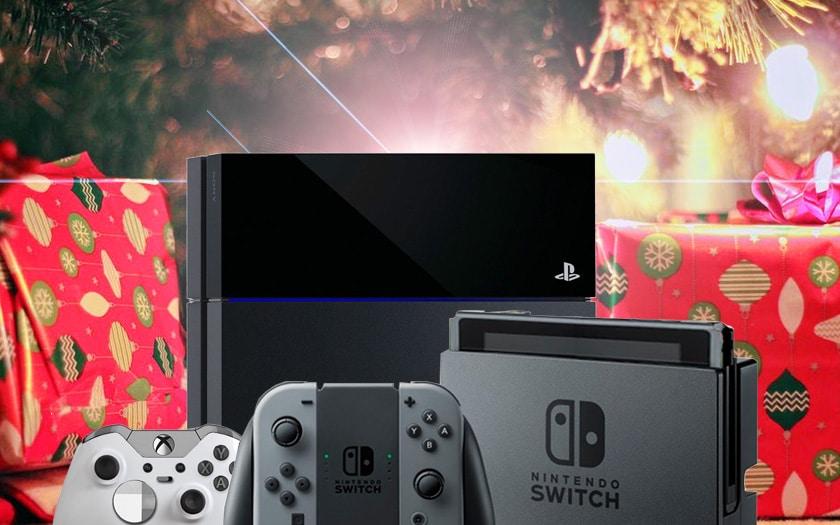 consoles et jeux video offres noel 2018