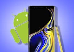 galaxy note 9 mise jour android pie
