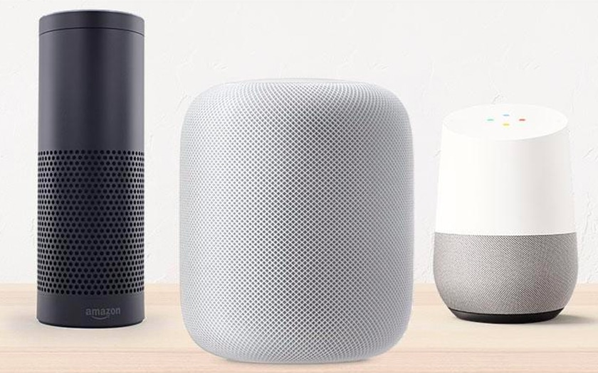 google home homepod amazon echo