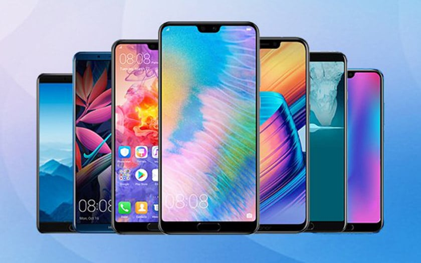 huawei P20 mate 10 honor 10 mise jour android pie disponible tous