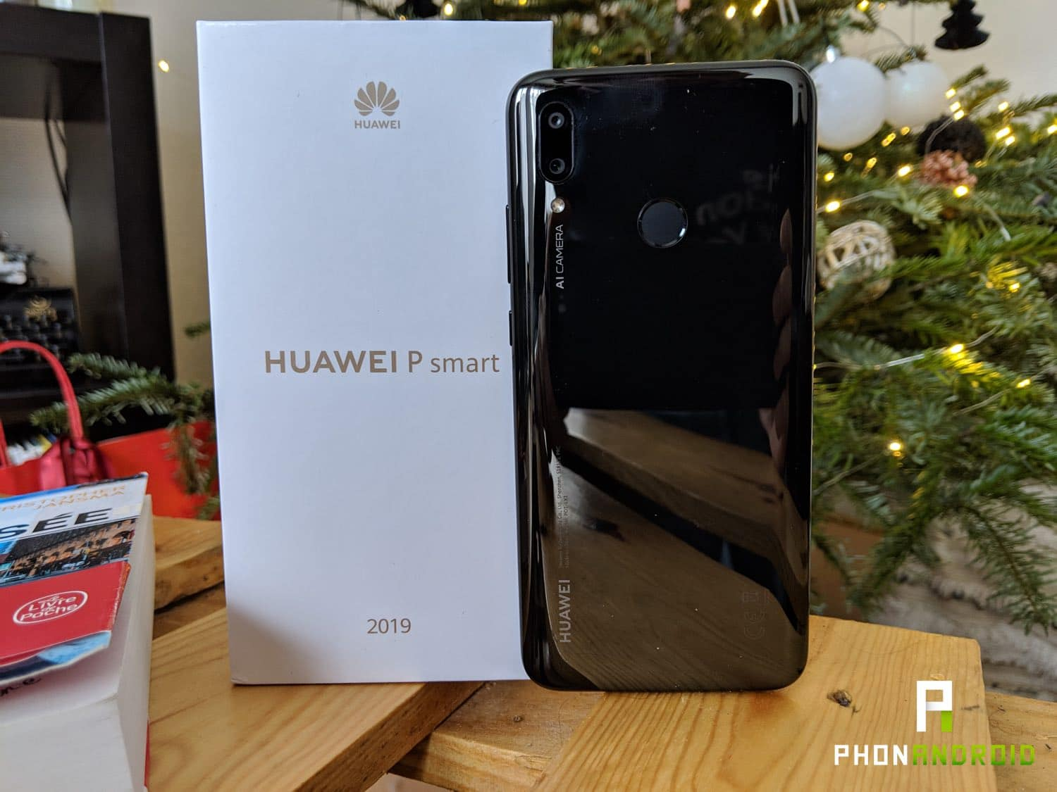 test huawei p smart 2019 design