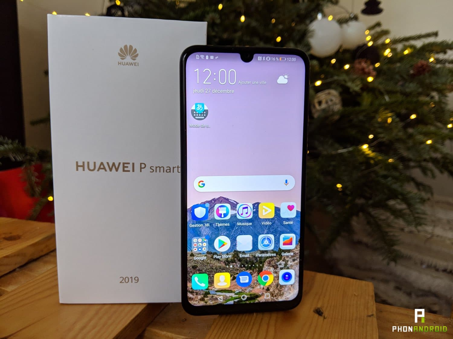 test huawei p smart 2019 ecran