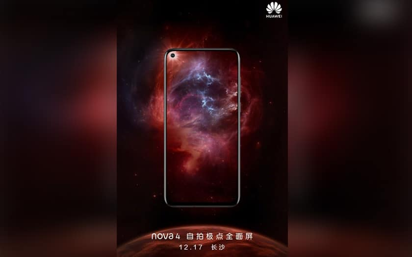 huawei smartphone trou ecran 17 decembre 2018